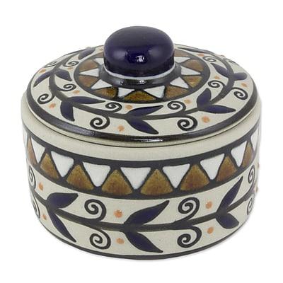Novica Ceramic Candy / Nut Bowl