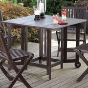 Merry Products Eucalyptus Folding Table