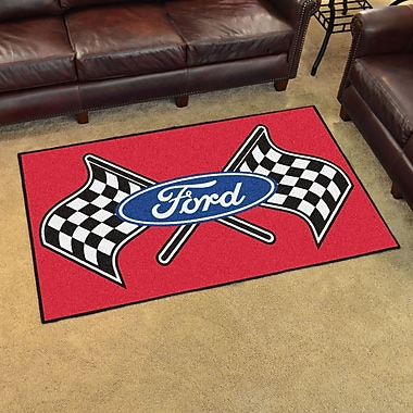 FANMATS Ford - Ford Flags Tailgater Mat; 1'7'' x 2'6''
