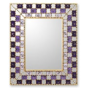 Novica Reverse Painted Wall Mirror