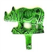 MarktSq Rhino Wall Hook; Green