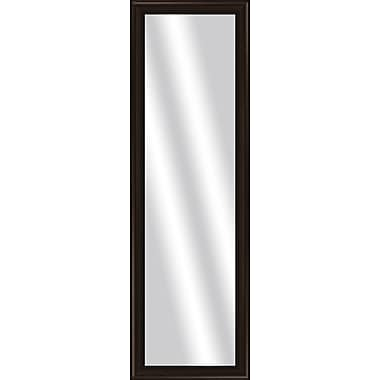 PTM Images Imperial Over the Door Mirror; Brown