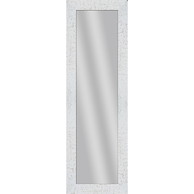 PTM Images Imperial Over the Door Mirror; White