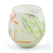 Novica Hand-Blown Recycled Glass Art Table Vase