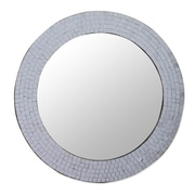 Novica Glass Mosaic Wall Mirror