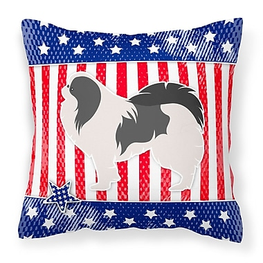 Caroline's Treasures Patriotic Indoor/Outdoor Throw Pillow; 18'' H x 18'' W x 3'' D
