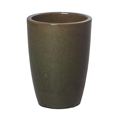 Emissary Ceramic Pot Planter; 14'' H x 8.5'' W x 8.5'' D