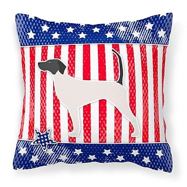 Caroline's Treasures Patriotic Indoor/Outdoor Throw Pillow; 18'' H x 18'' W x 3'' D