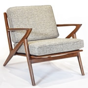 Gingko Home Furnishings Zach Arm Chair; Mineral