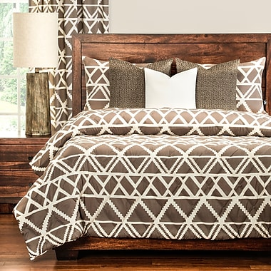 PoloGear Geo Tribe 3 Piece Comforter Set; Twin