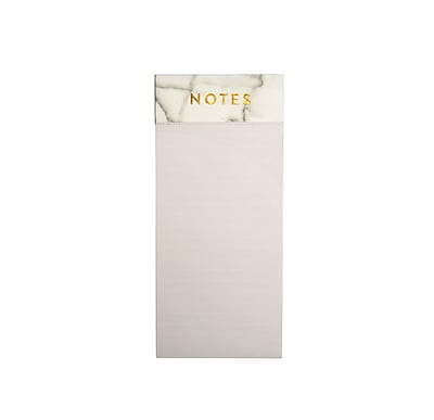 Eccolo Marble Magnetic List Pad with Gold Foiled