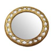 Novica Handbag Artisan Crafted Wall Mirror