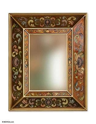 Novica Coat of Arms Wall Mirror