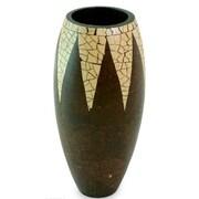 Novica Tropical Snow Cone Coconut Shell Table Vase