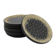 Novica Eggshells Lacquered Wood Coaster (Set of 6)
