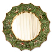 Novica Reverse Painted Glass Wall Mirror