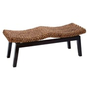 Cole & Grey Wood Dining Bench