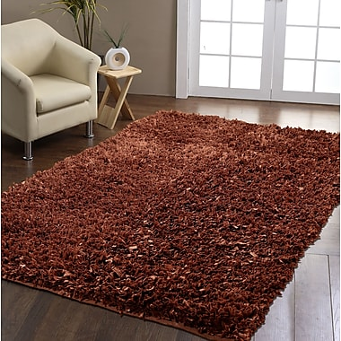 Panache Brown Area Rug; 8' x 10'