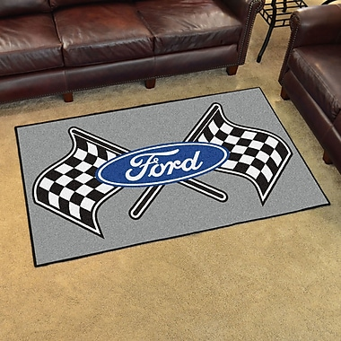 FANMATS Ford - Ford Flags Tailgater Mat; 5' x 8'
