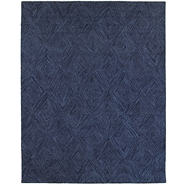 Bloomsbury Market Chantrell Hand-Crafted Blue Area Rug; 5' x 7'9''