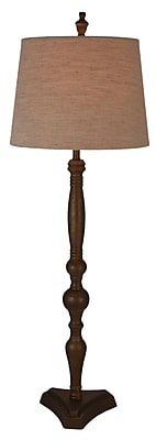 Wildon Home Candlestick 36'' Resin Table Lamp