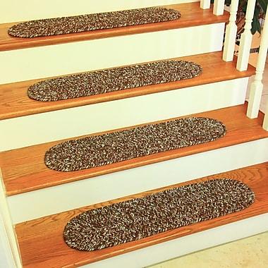 Wildon Home Ceridwenne Brown Indoor/Outdoor Stair Tread (Set of 13)