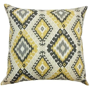 Bungalow Rose Brinsmead Geometric Cotton Throw Pillow; 20'' x 20''