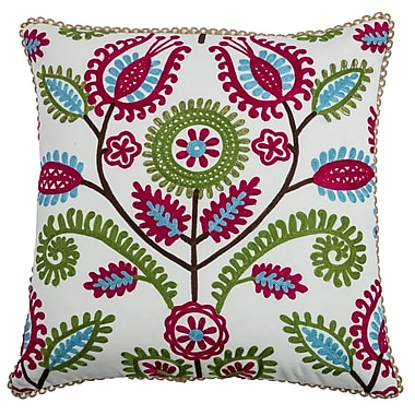 Wildon Home Charlotty Cotton Throw Pillow