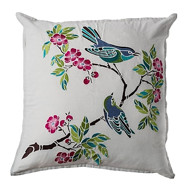 Wildon Home Chaside Chasidie Cotton Throw Pillow