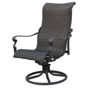 Darby Home Co Kentland Swivel Patio Dining Chair