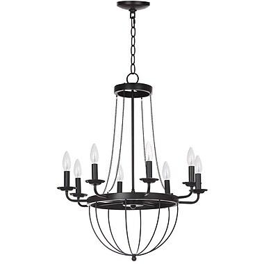 Gracie Oaks Lawrenceville 8-Light Candle-Style Chandelier