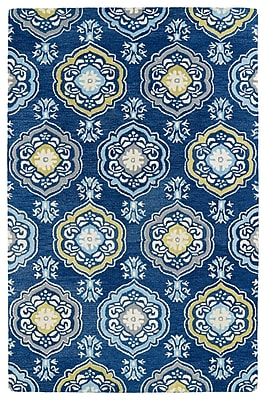 Charlton Home Casper Blue Area Rug; 9' x 12'