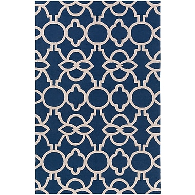 Artistic Weavers Marigold Arabella Hand-Crafted Navy Blue Area Rug; Runner 2'3'' x 10'
