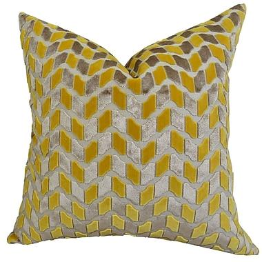 Plutus Brands Velvet Rope Handmade Throw Pillow; 18'' H x 18'' W