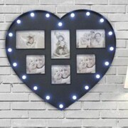A&J Homes Studio Sycamore LED Photo Frame