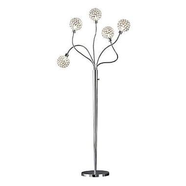 Artiva USA Dimmable 65'' Crystal Tree Floor Lamp