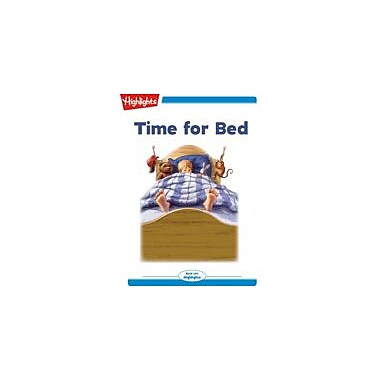 Highlights for Children Time for Bed Reading & Writing Workbook, Kindergarten - Grade 2 [eBook + Audio]