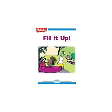Highlights for Children Fill It Up! Reading & Writing Workbook, Kindergarten - Grade 2 [eBook + Audio]