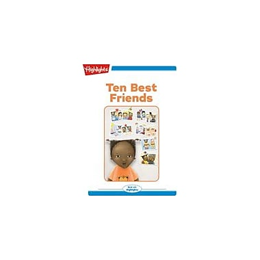 Highlights for Children Ten Best Friends Reading & Writing Workbook, Kindergarten - Grade 2 [eBook + Audio]