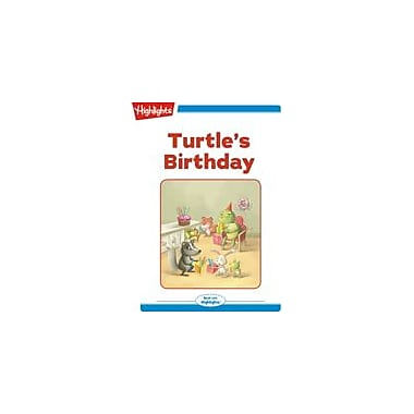 Highlights for Children Turtle's Birthday Reading & Writing Workbook, Kindergarten - Grade 2 [eBook + Audio]