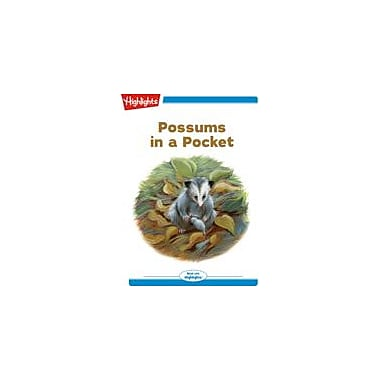 Highlights for Children Possums In A Pocket Reading & Writing Workbook, Kindergarten - Grade 2 [eBook + Audio]