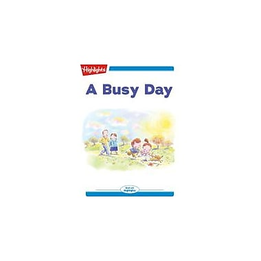 Highlights for Children A Busy Day Reading & Writing Workbook, Kindergarten - Grade 2 [eBook + Audio]
