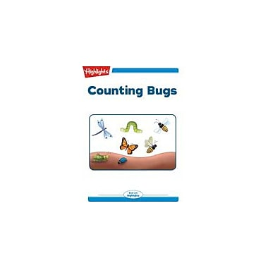 Highlights for Children Counting Bugs Reading & Writing Workbook, Kindergarten - Grade 2 [eBook + Audio]