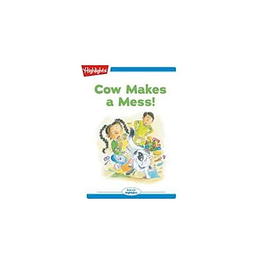 Highlights for Children Tex and Indi: Cow Makes A Mess Reading & Writing Workbook, Kindergarten - Grade 2 [eBook + Audio]