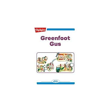 Highlights for Children Greenfoot Gus Reading & Writing Workbook, Kindergarten - Grade 2 [eBook + Audio]