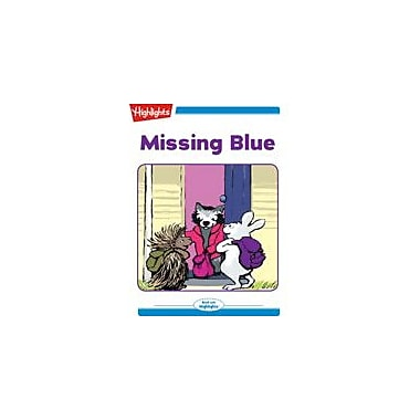 Highlights for Children Missing Blue Reading & Writing Workbook, Kindergarten - Grade 2 [eBook + Audio]