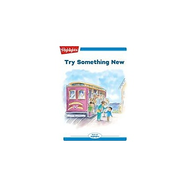 Highlights for Children Tex and Indi: Try Something New Reading & Writing Workbook, Kindergarten - Grade 2 [eBook + Audio]