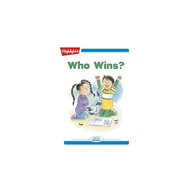 Highlights for Children Tex and Indi: Who Wins? Reading & Writing Workbook, Kindergarten - Grade 2 [eBook + Audio]