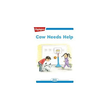 Highlights for Children Tex and Indi: Cow Needs Help Reading & Writing Workbook, Kindergarten - Grade 2 [eBook + Audio]