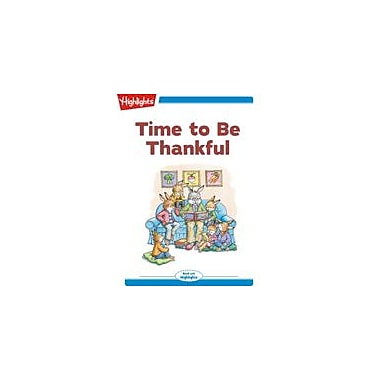 Highlights for Children Time To Be Thankful Reading & Writing Workbook, Kindergarten - Grade 2 [eBook + Audio]